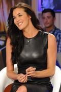 Меган Гэйл, фото 242. Megan Gale on Italian tv show 'Verissimo' - 04/11/11, foto 242