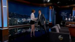 Karen Gillan - Jimmy Kimmel Live - 10 06 2014 - 720p