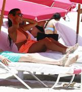 Ludivine Sagna, 2015-07-02, on abeach in Miami