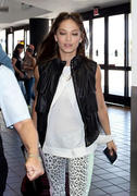 Kristin Kreuk - Los Angeles International Airport - 7/30/12