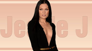 Jessie J - Deep Cleavage - Wallpaper - 1x - 1920 x 1080