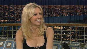 Heather Locklear - Late Night with Conan O'Brien (2005)